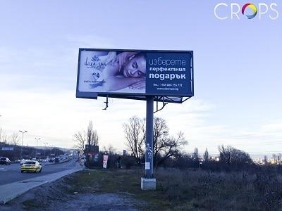 Графичен дизайн билборд