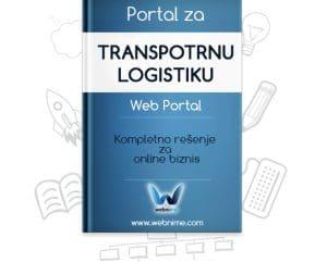 Izrada sajta za TRANSPORTNU LOGISTIKU