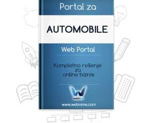 Portal za automobileIzrada sajta za AUTOMOBILE