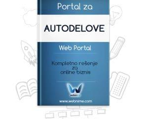 Izrada sajta za AUTODELOVE