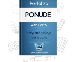 Izrada sajta za PONUDE