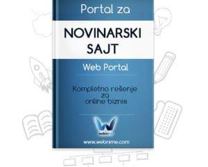 Izrada NOVINARSKOG sajta