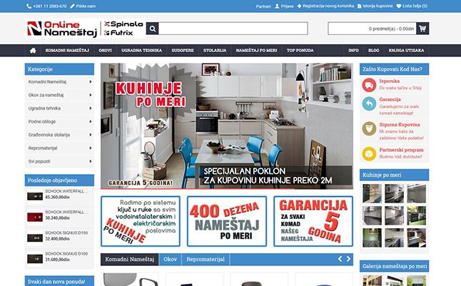Online Nameštaj - Internet Prodavnica