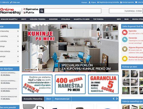 Online prodavnica nameštaja – www.onlinenamestaj.rs