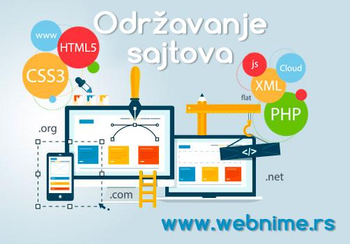 Održavanje sajta