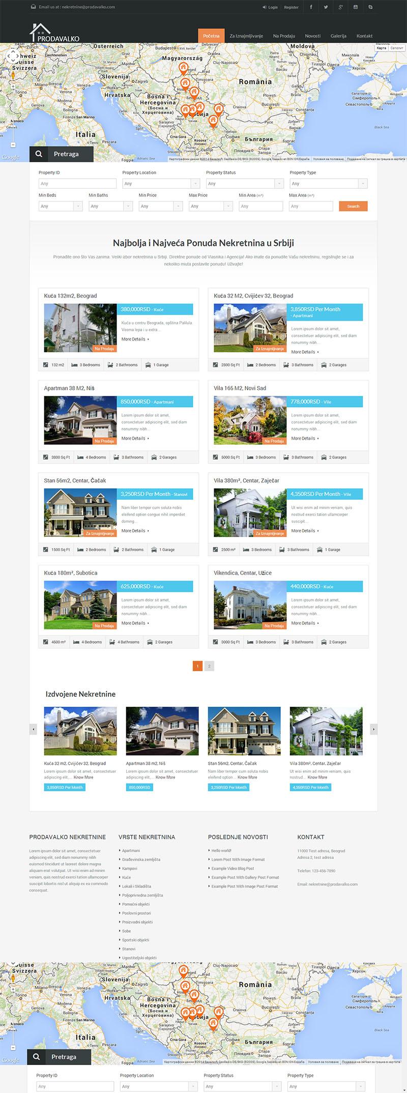 Уеб Портал за недвижими имоти