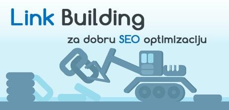 SEO optimizacija sajta, link building, webnime