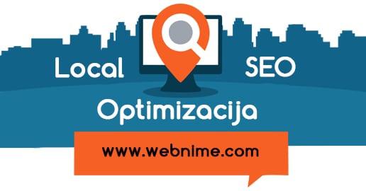Lokalno SEO optimizacija