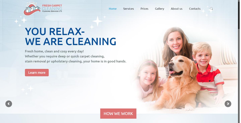 Английски сайт за почистване
