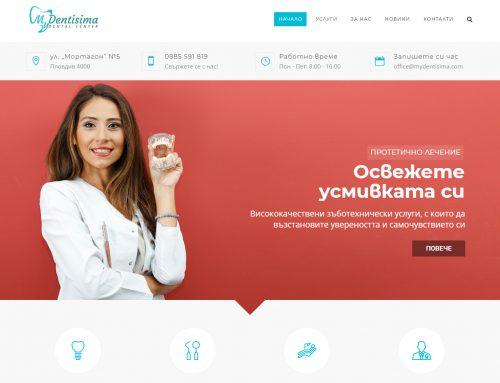 Web sajt za zubarsku ordinaciju