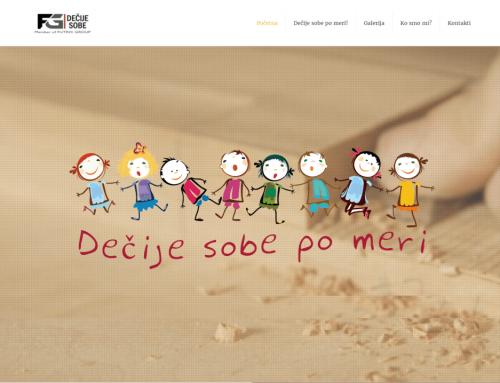 Web sajt – Dečije sobe po meri