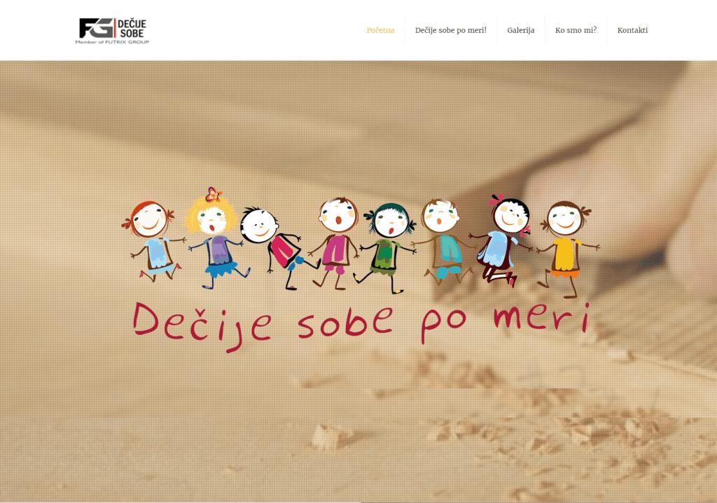 Web sajt - Dečije sobe po meri