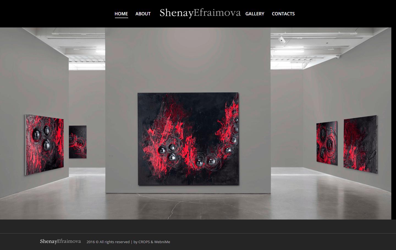 Web sajt - Umetnicka galerija