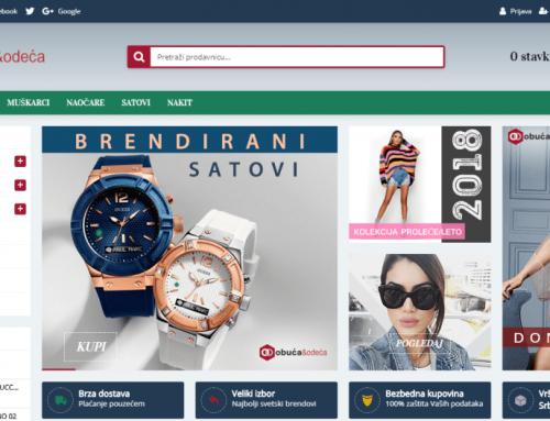Obuća i odeća – Online prodavnica