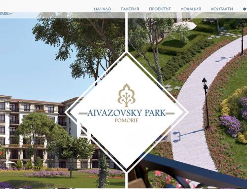 Web sajt – Aivazovsky park