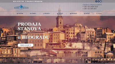 Izrada sajta za Investitora