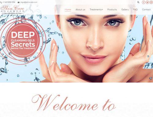 Izrada sajta za Beauty salon u Americi
