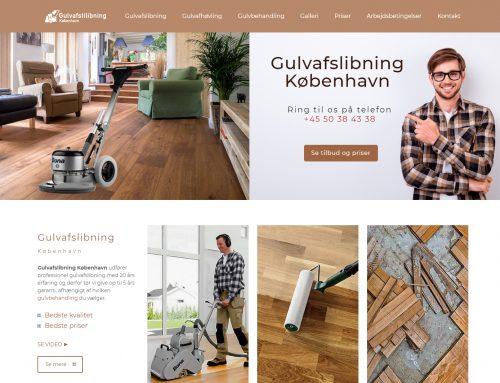 Izrada sajta za šlajfovanje i lakiranje parketa i podova