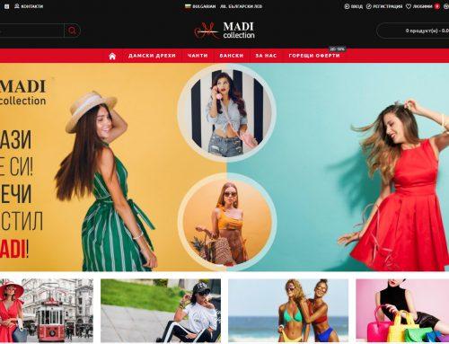 Izrada  sajta za firmu Madicollection